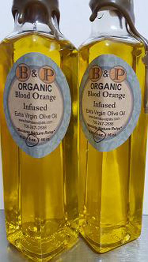 Blood Orange Infused ORGANIC Extra Virgin Olive Oil