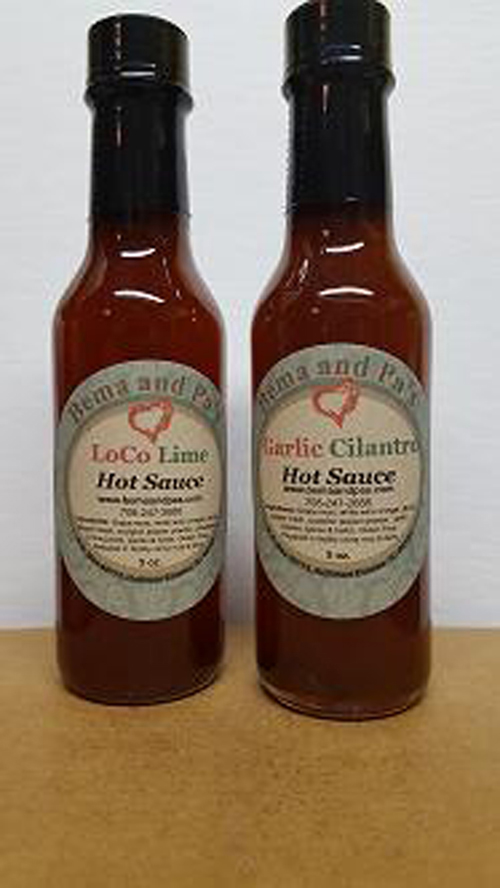 Pineapple Lime Hot Sauce