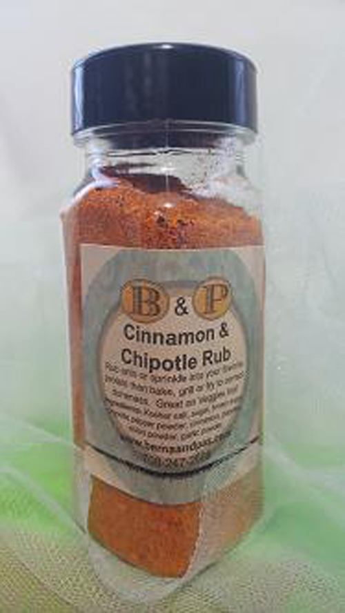 Cinnamon & Chipotle Rub