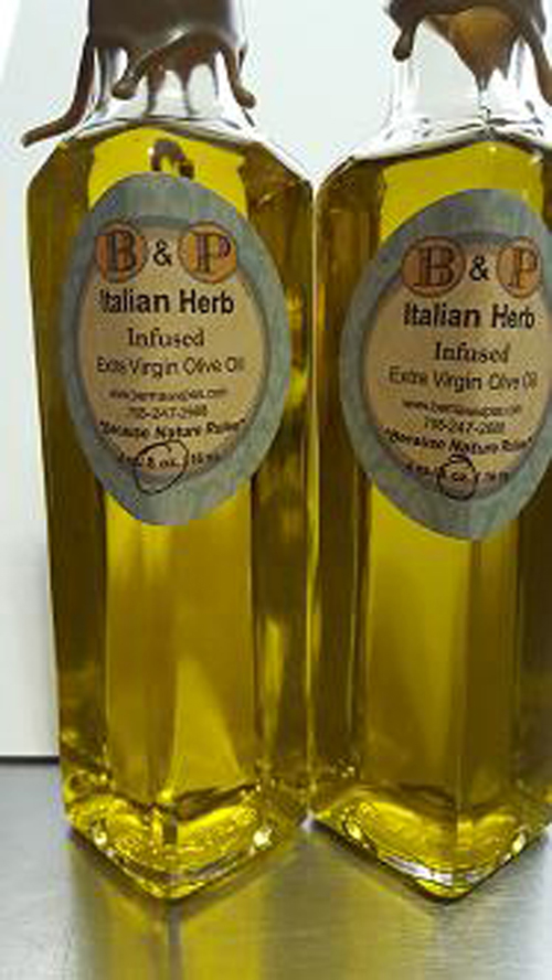 Italian Herb Infused Extra virgin Olive Oil