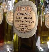 Lime Infused ORGANIC Extra Virgin Olive Oil