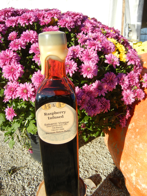 Raspberry Infused Balsamic Vinegar
