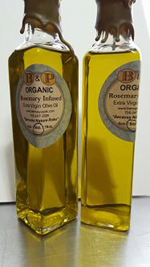 Rosemary Infused Organic Extra Virgin Olive Oil